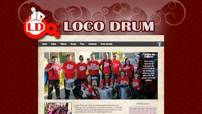 Grupo de Batucada Loco Drum. Una batería formada por 8 clases de instrumentos de percusión diferentes a los cuales dan vida 22 músicos con las mejores coreografías, harán de su evento una experiencia visual y musical inigualable.