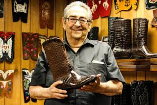 La empresa que hace botas de vaquero a mano