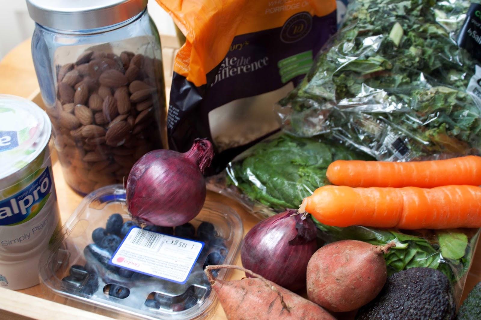 FOOD : WHAT'S IN MY FRIDGE + KEY PRODUCE
