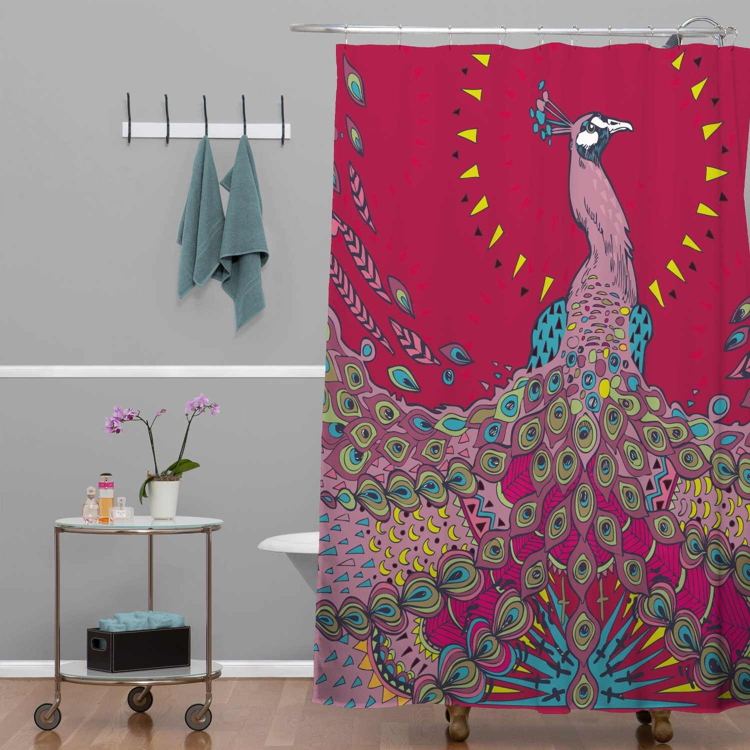Total Fab Peacock Themed Bathroom Decor Amp Accessories