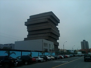 WHAT A CLEVER DESIGN for the MINISTRY of EDUCATION BUILDING in LIMA, PERU