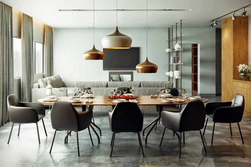 desain ruang makan victorian