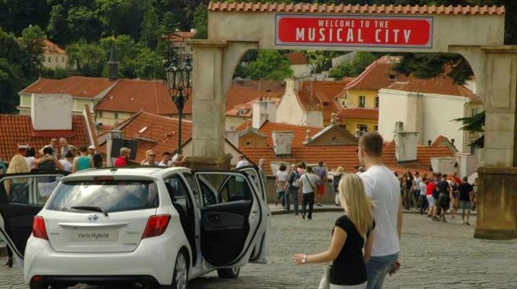 Toyota Yaris, Praga, La Ciudad Musical