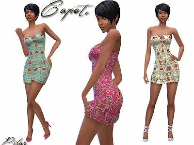 05-05-2015 Vestido corto Capote