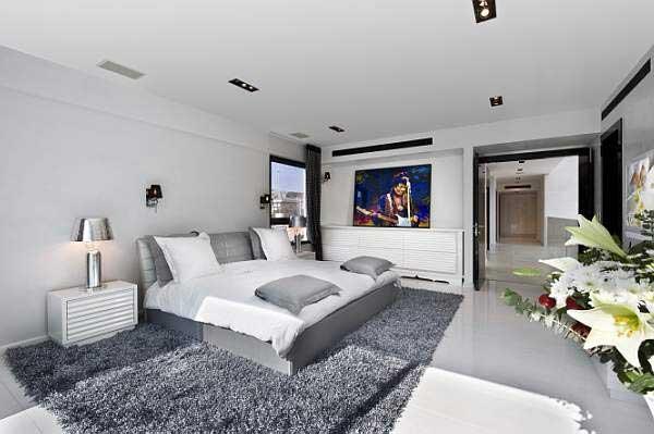 desain kamar tidur minimalis modern lebih gambar