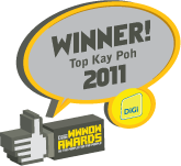 Digi WWWOW Award - Winner Top Kay Poh 2011