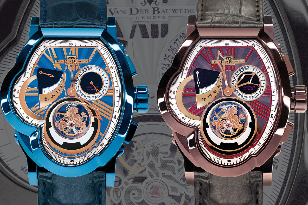 VDB Legend T. Crown Tourbillon Mechanical Watch