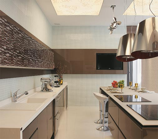 Cozinhas planejadas Modelos de cozinha