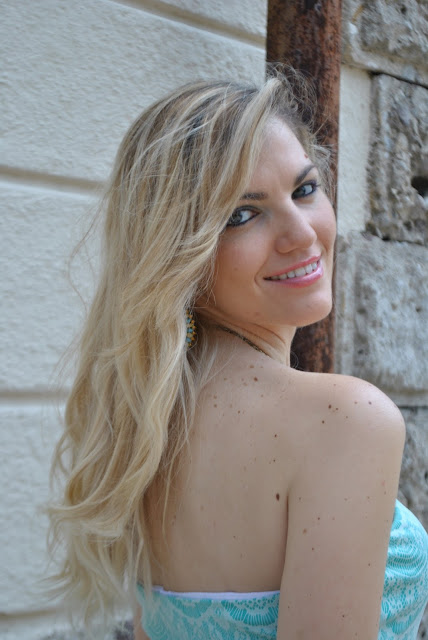 mariafelicia magno fashion blogger colorblock by felym blog di moda italiani blogger italiane di moda milano ragazze bionde capelli ondulati tendenza capelli estate 2015 wavy hair blonde hair blondie blonde girls blue eyes italian girls mac cosmetics come truccare gli occhi azzurri giugno 2015