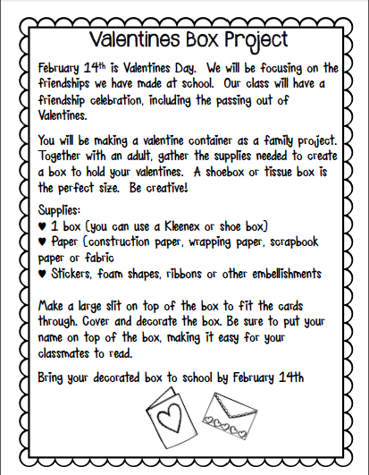 Valentine Letter To Parents Samples Pictures to Pin on Pinterest