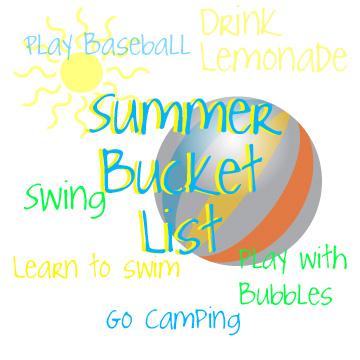 Summer bucket list creating a summer bucket list