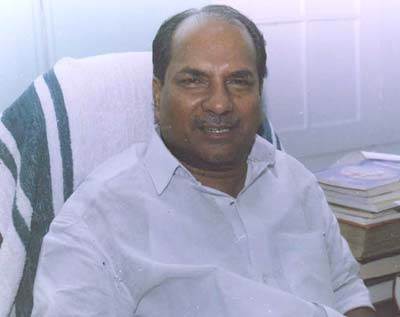 A.K. Antony, Union Defence Minister