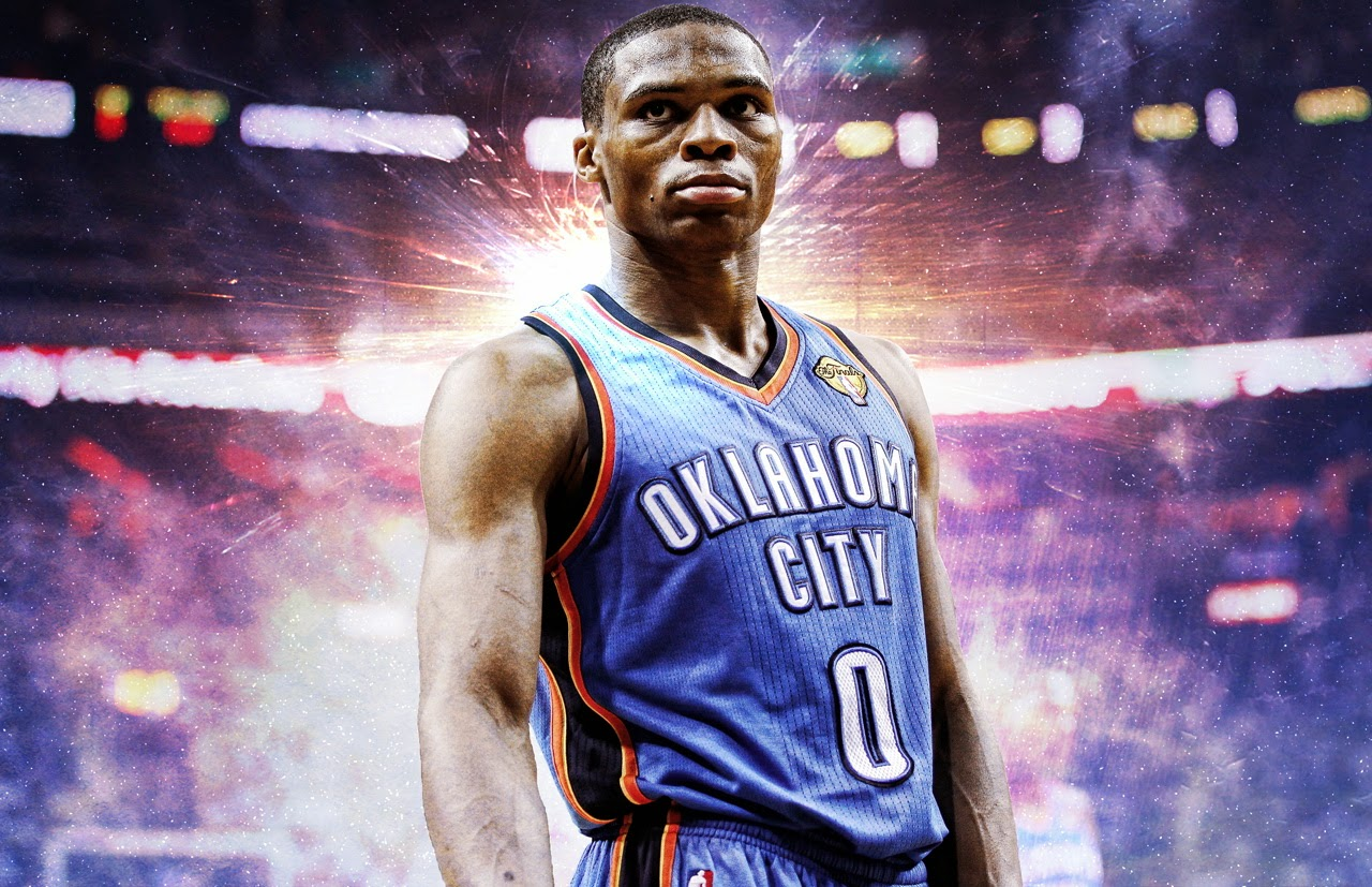 Wallpaper Wide Oklahoma City Thunder Player Russel Westbrook