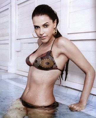 Neha Dhupia Nude  and Fake Fucking
