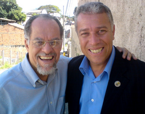 Pastor Márcio Valadão e vereador João Oscar
