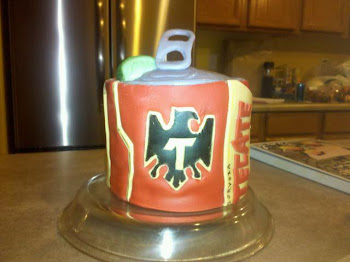 Tecate Beer can