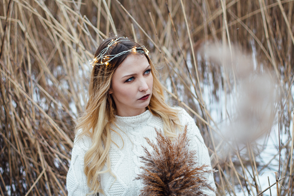 winter photo shoot by Zane Jenzena
