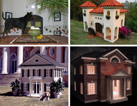 how many times has your dog told you that he could really use his own space give him all the space he needs with one of these custom dog houses