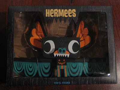 Trickster Edition Hermees Vinyl Figure in Packaging by Gary Ham