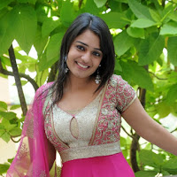 Nikitha thukral spicy pink salver kameez stunning innocent beauty