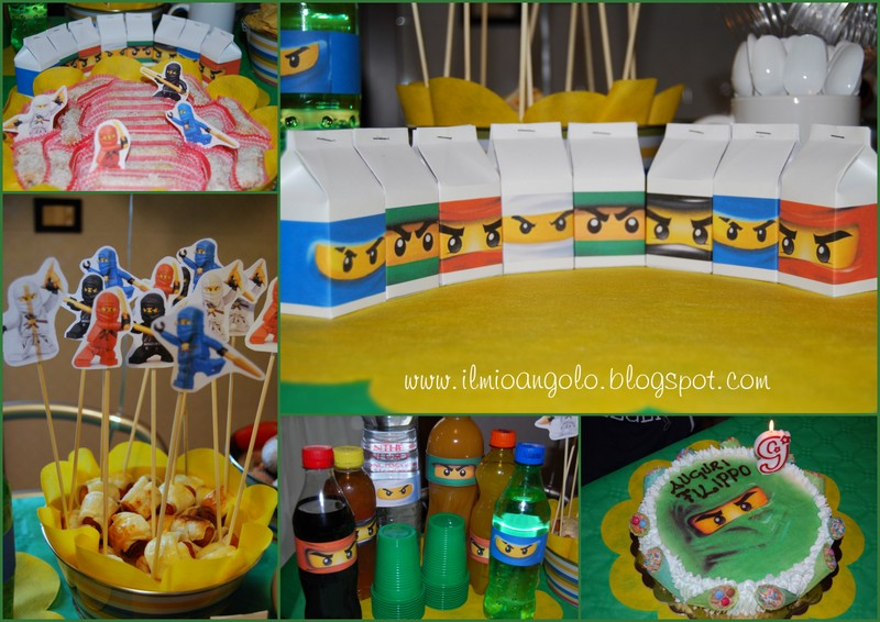 Ninjago Lego Torta Cake Ideas And Designs