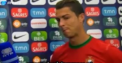 Grito para Ronaldo - És o melhor do mundo caralho