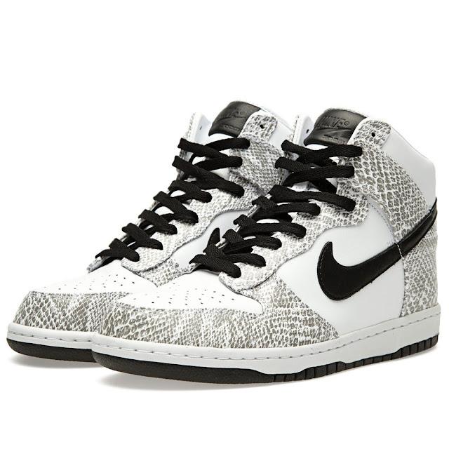 "Nike Dunk Premium Hi ""Cocoa Snake"" und ""3M Snake"""