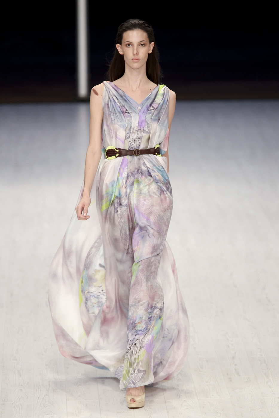 via fashioned by love | Matthew Williamson Spring/Summer 2011 | floral trend