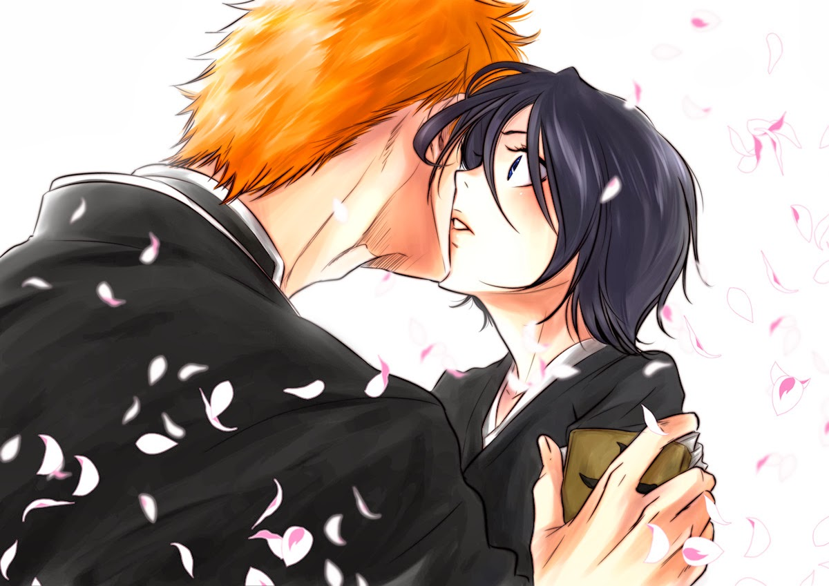 ichigo and rukia kiss - photo #13