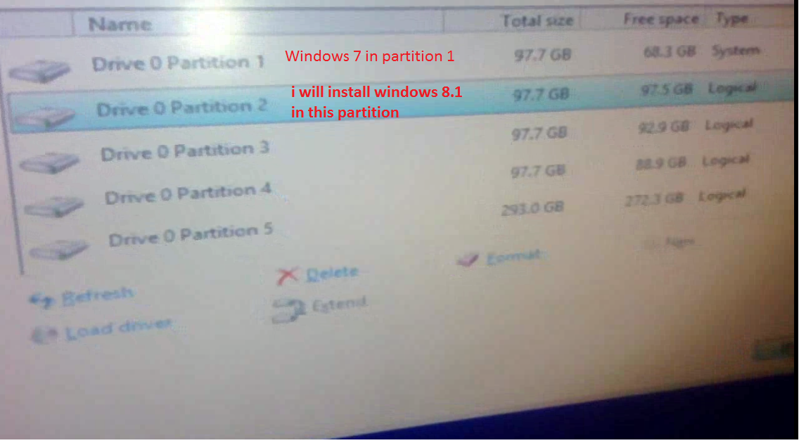 How to Install Dual Operating System (Windows 7, Windows 8 and Windows 8.1)