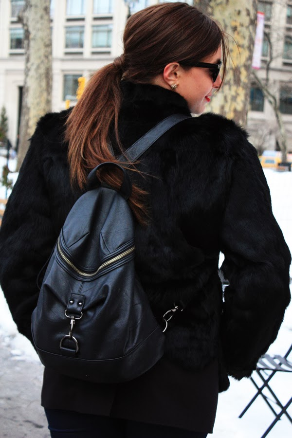 NYFW Street Style St. Louis Fashion Blogger Lindsay Pattan
