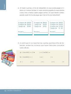Apoyo Primaria Desafíos matemáticos 4to grado Bloque I lección 1 Los libreros