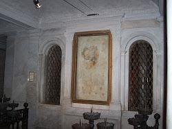 Piatra pe care corpul lui Lawrence a fost pus după moarte, în San Lorenzo fuori le Mura
