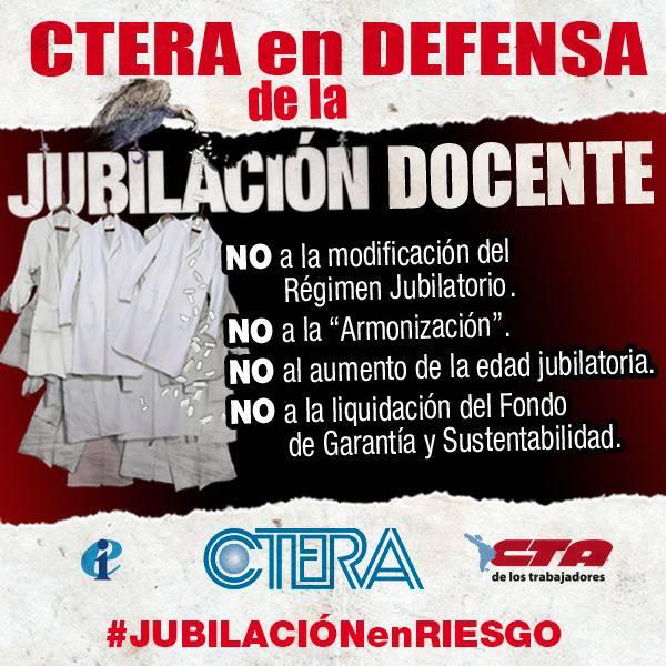 EN DEFENSA DE LA JUBILACIÓN DOCENTE