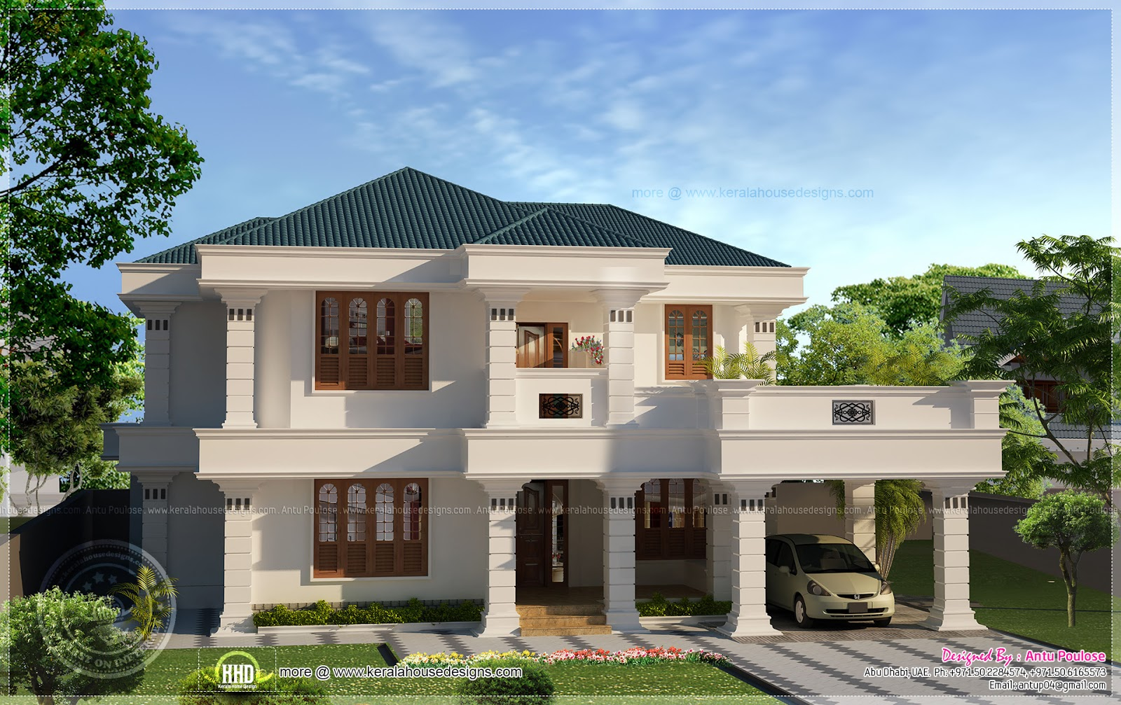 Elegant home design for Elegant house plans photos