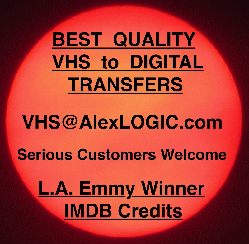 Best Quality VHS to Digital Transfers