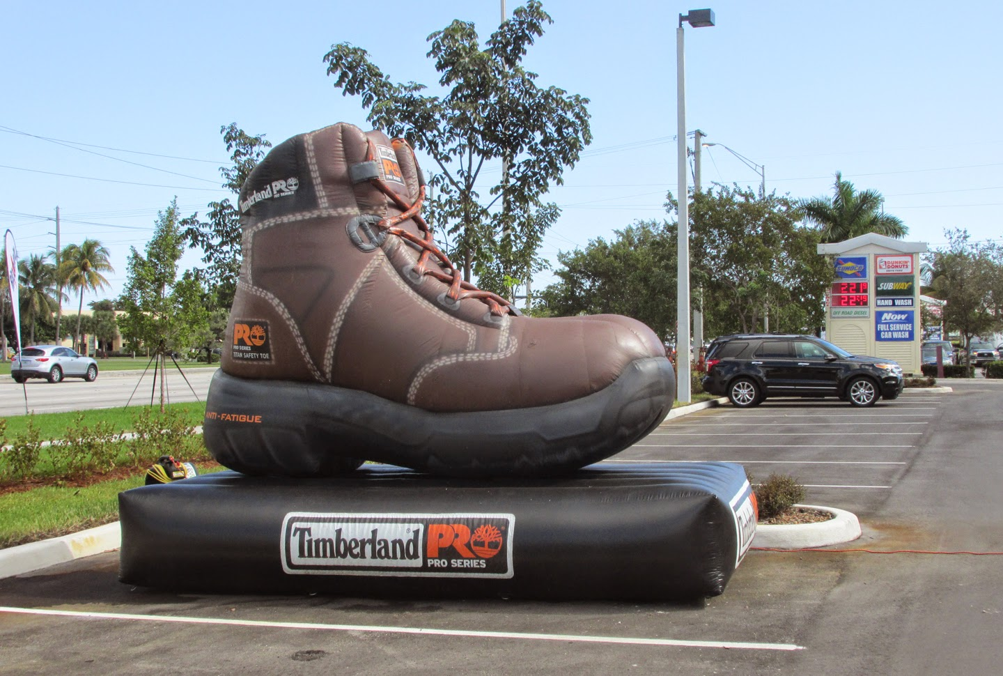 An extra large Timberland Pro series with the Titan Safety Toe, Pompano  Beach, Florida
