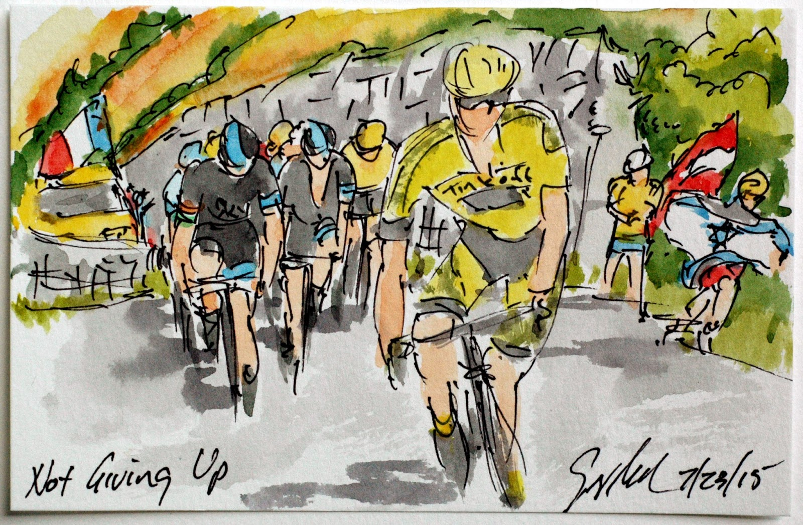 The Art of Cycling: Tour de France, Stage 18: Not Giving Up