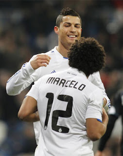 Cristiano and Marcelo will play against Tottenham