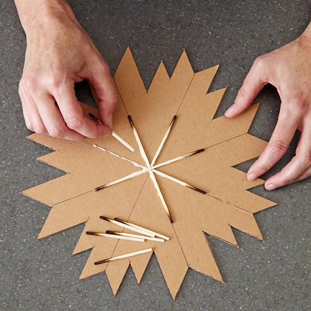 Matchstick Star