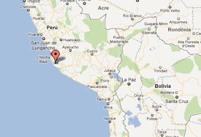 temblor lima ica peru hoy 2011 28 octubre