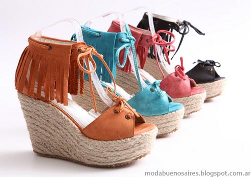 Heyas verano 2013. Moda sandalias 2013