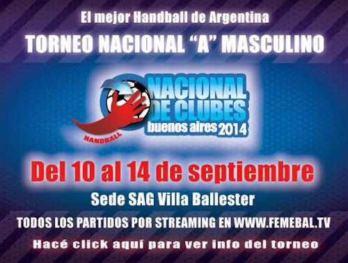 Nacional de Clubes en Argentina - Clasificatorio Panamericano Clubes | Mundo Handball