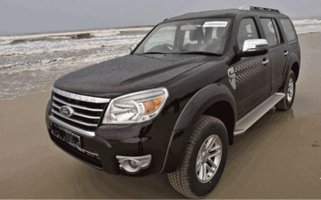 Ford Endeavour 20092014 Price GST Rates Images