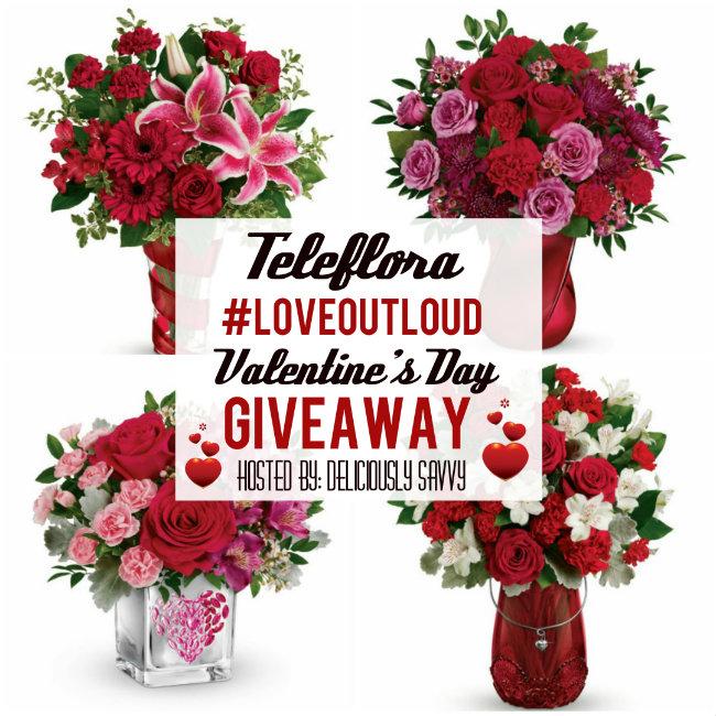 Teleflora #LoveOutLoud Giveaway