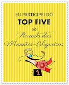 Selo ganhado do Recando das Mamães blogueiras