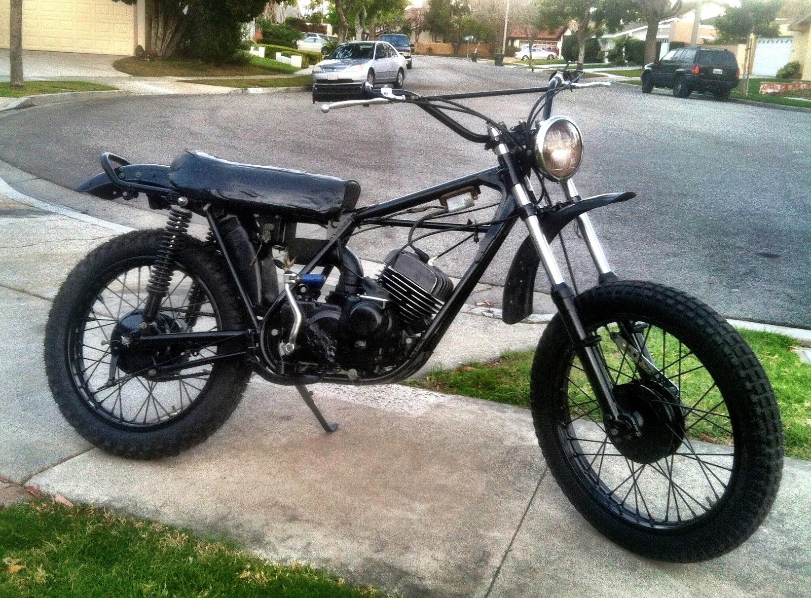 1971 Kawasaki F7 Dirt Bike Build