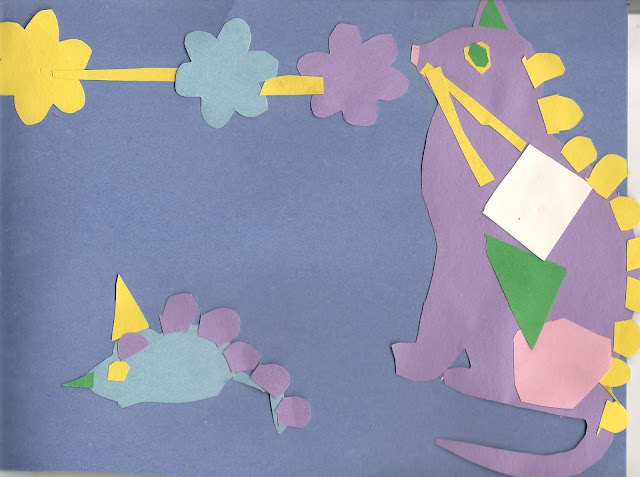 Template cat and mouse papercraft activity for preschool kids