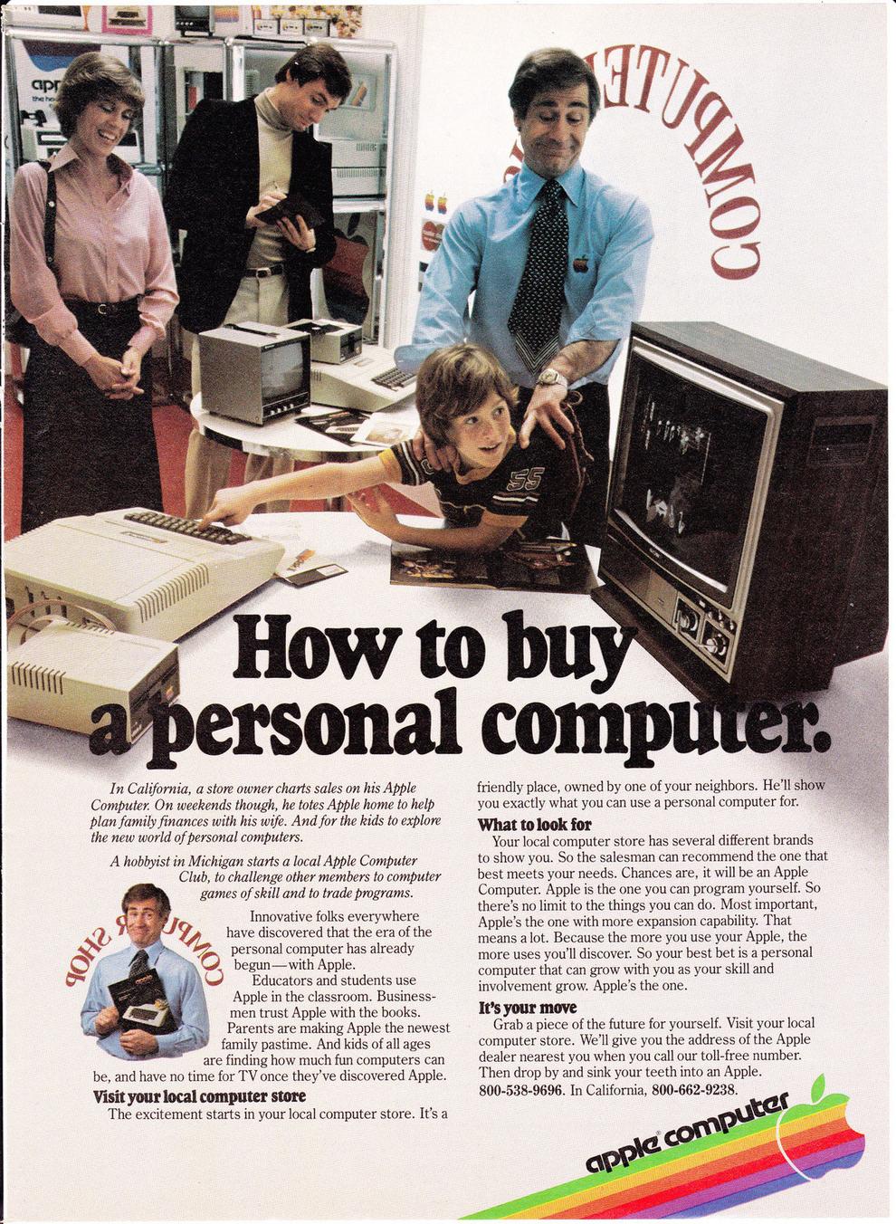 10 cool vintage apple ads vintage everyday