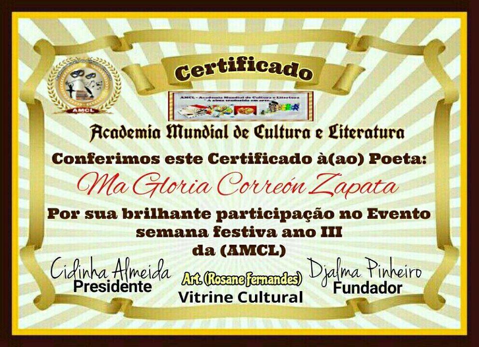 Academia Mudial de Cultura y Literatura.